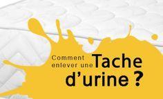 Comment enlever de l'urine sur un matelas ?Environ un verre de bicarbonate de soude technique 3 gouttes d'huile essentielle de lavande vraie permet d 'éliminer les mauvaises odeurs de l'urine. Astuce pour enlever de l'urine sur un matelas Mélangez dans un verre le bicarbonate de soude et l'huile essentielle. Saupoudrez la tache avec cette solution. Laissez agir pendant au moins 2 heures à l'air libre. Aspirez la poudre, l'odeur aura disparue et la tache aussi
