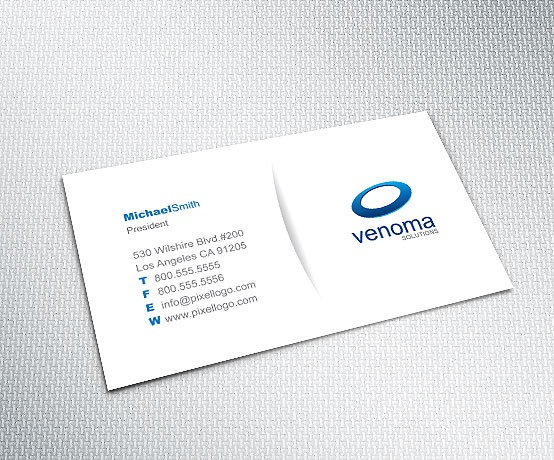 A White Business Card Design. #businesscard #design $9.99