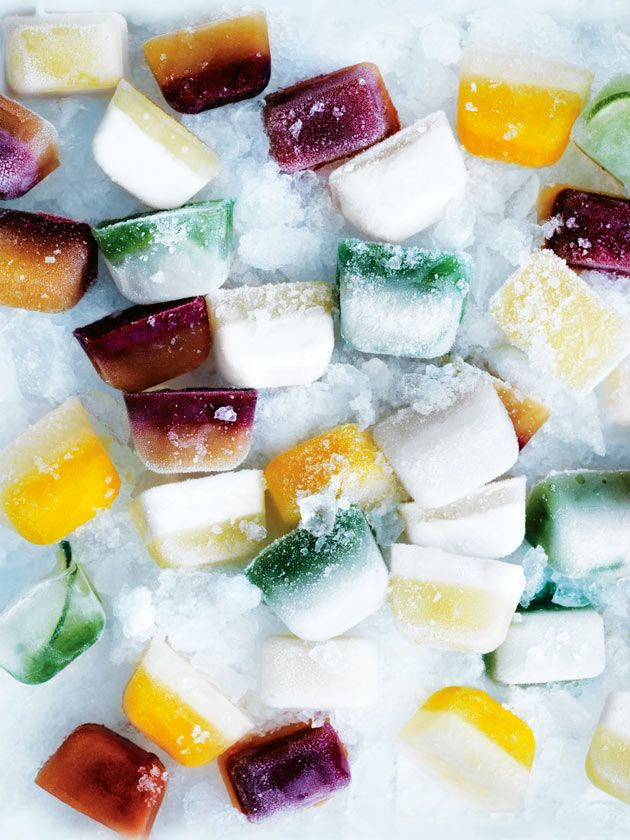 Flavour Infused Ice Cubes /
