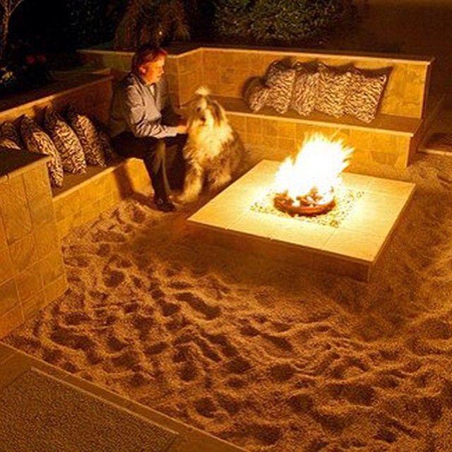 best 25 beach fire pits ideas on pinterest backyard beach on the beach uk and bonfire food. Black Bedroom Furniture Sets. Home Design Ideas