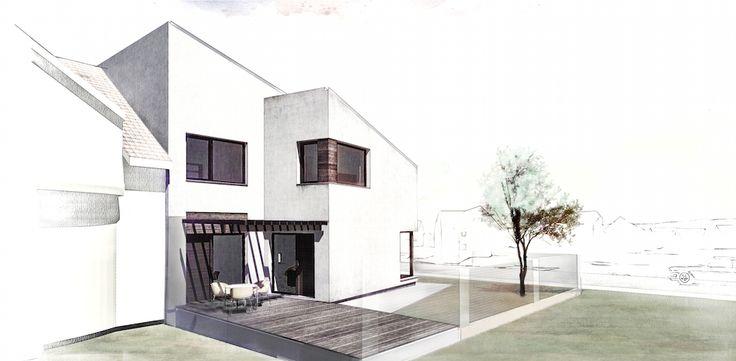 House LR / Single-Family House / Location: Sibiu / Year: 2012 / Team: Mihai Sima, Raluca Sabău, Irina Bota / 3d Visualization: Emese Luha