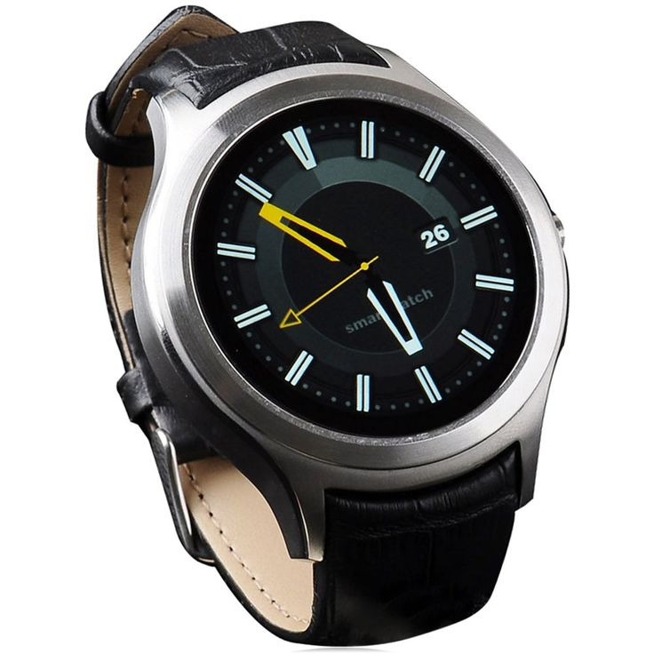 Hot! K8 Mini Smart Watch Similar NO.1 D5 Android 4.4 Heart Rate Monitor Bluetooth 3G WiFi GPS SmartWatch iOS Android Smart Phone //Price: $143.92      #sale