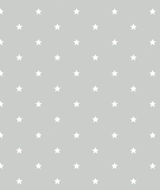 Behang Kinderkamer Little White Stars van Lilipinso