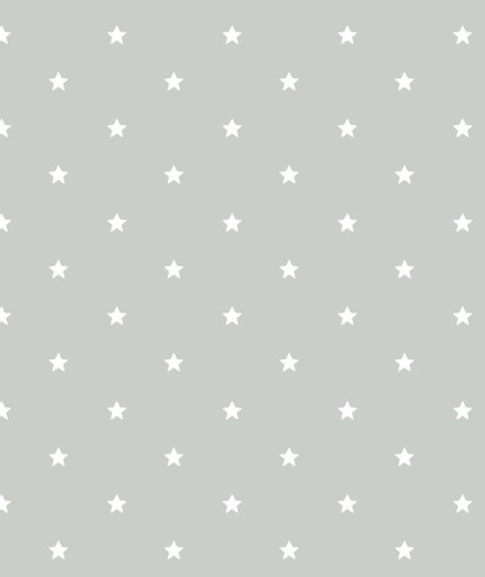 Behang Kinderkamer Little White Stars van Lilipinso