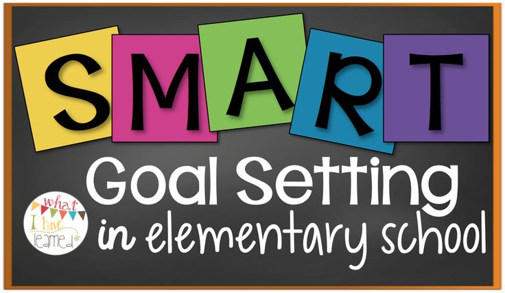 Student Goal Setting in Elementary School | What I Have Learned