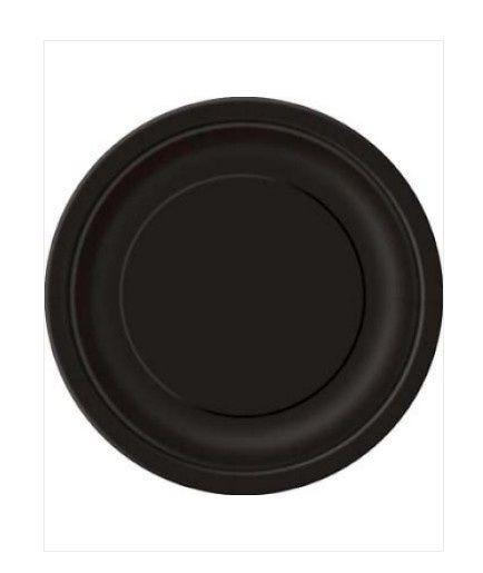 Borden zwart 23cm