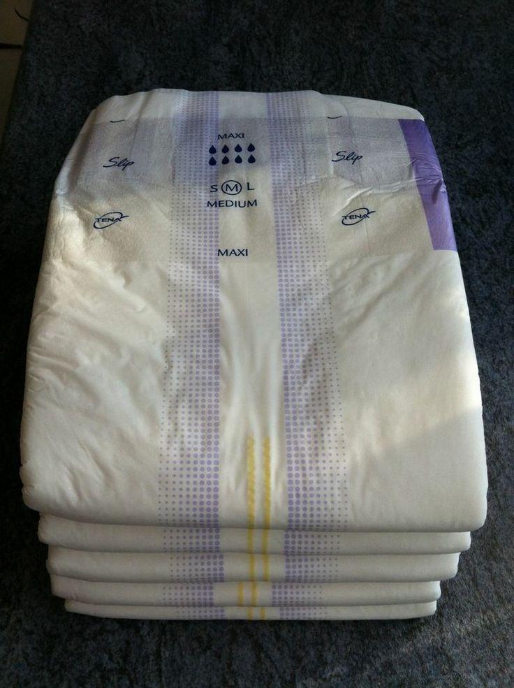 Tena Maxi Slip Feel Dry 5 Pads Size Medium Fancy Dress