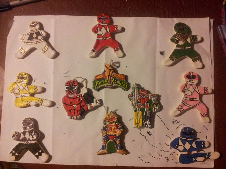 54 best A Morphinominal Power Rangers Christmas images on ...