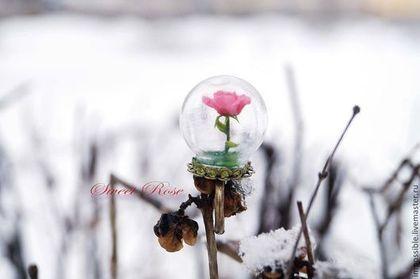 """Кольцо """"Роза Маленького Принца"""" - кольцо роза,кольцо с розой,украшение с розой"""