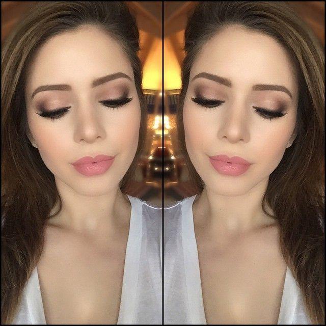 Bridal makeup look. #vsco #vscocam #makeupartist #makeup #makeupaddict #makeupaddiction #makeupjunkie #mua #zürich #schweiz #inssta_makeup #instaglam #itsgenesys #mayamiamakeup #vegas_nay #hudabeauty #wakeupandmakeup #makeupartistsworldwide #bride #bridal #wedding #todayslook #love  Products  Face - #mac Studio Fix Fluid Foundation - MAC Pro Longwear Concealer - MAC Pro Emphasize - #bobbibrown Bronzing Powder/Natural - MAC Pro Longwear Blush/Rosy Outlook - #hourglass Ambient Lightning…