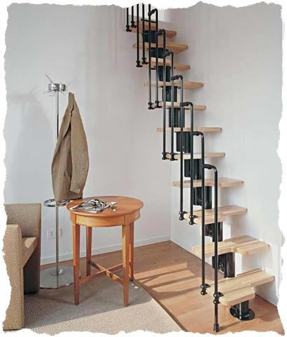 Helical Stairs on Cheap Spiral Staircase Kits   Space Saver Staircase