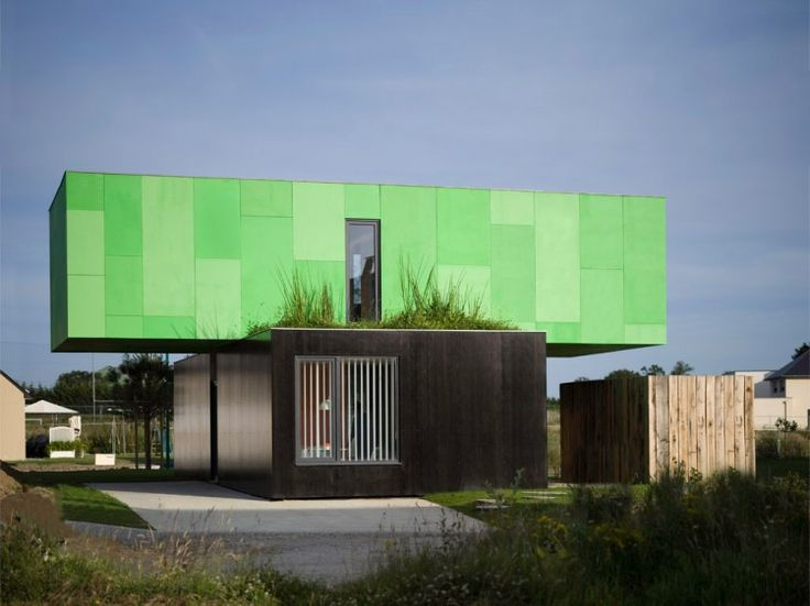 Shipping Container Homes: Crossbox By CG Architects   Pont Péan, France   Shipping  Container