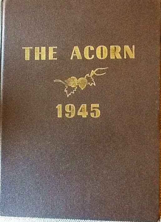 "1945 ""Acorn"" Yearbook from Alameda High School, Alameda, CA"