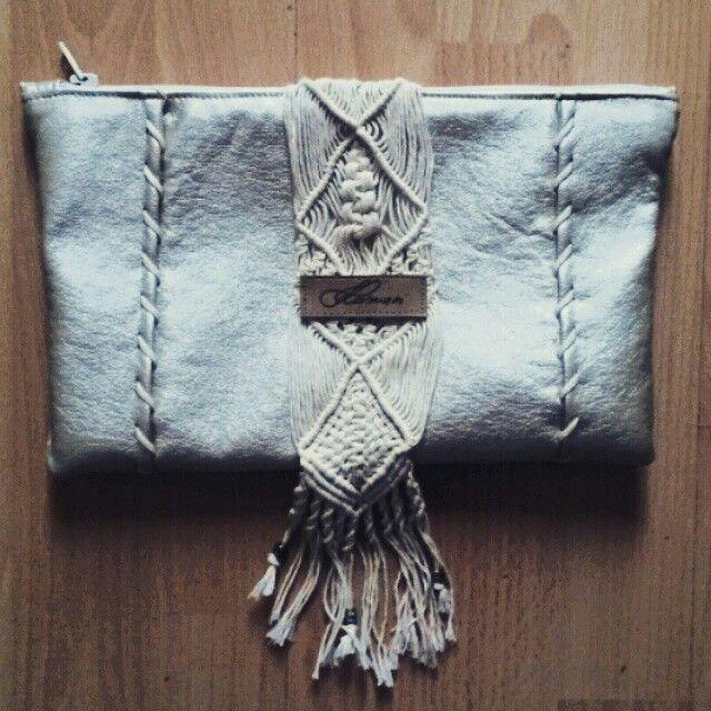 Rustic silver bag
