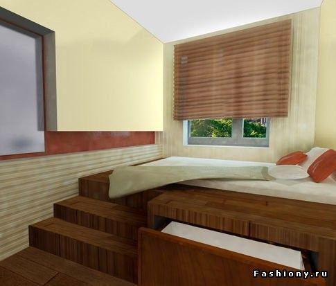 кровать на шкафу