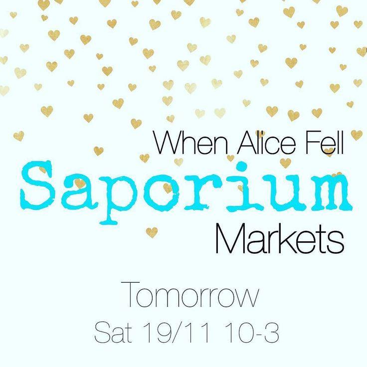 See you tomorrow @saporium @breweryyard #sydneymarkets #sydneyweekend #oneofakind #vintage #retro #industrial