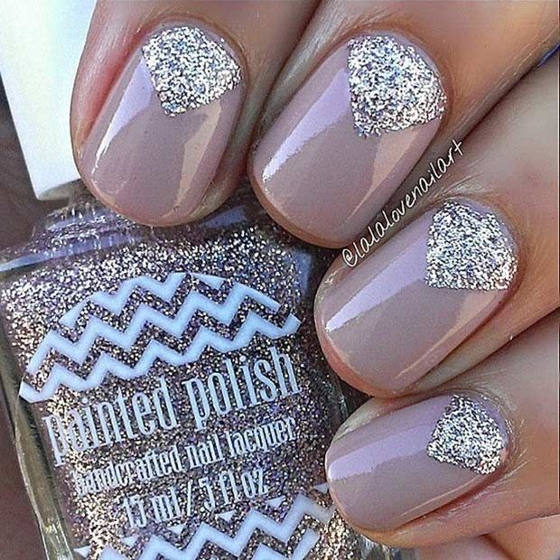 17 Best ideas about Glitter Nails on Pinterest   Coffin nail ...