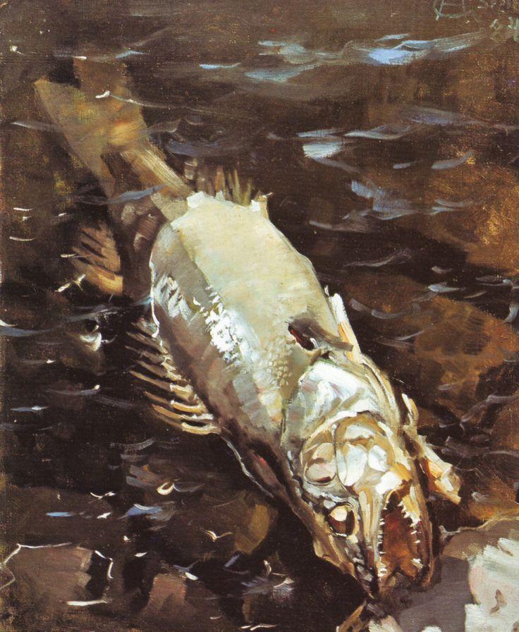 The Athenaeum - Rotting Fish (Akseli Gallen-Kallela - )