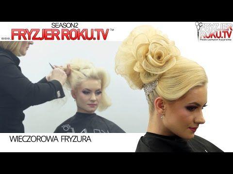 Wieczorowa fryzura. Victoria Schimbator ★★★★★ FryzjerRoku.tv - YouTube