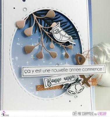 "Scrappy Géri : Tampons et matrices de coupe (dies) #4enSCRAP ""Little things"""