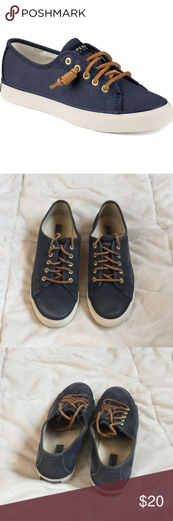 ✔️ Blue sherry seacoast sneakers ✔️ Used but cheap! Sperry Top-Sider Shoes Sneakers