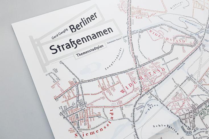 There is Kantstraße, Savignyplatz, Warschauer Straße, Lützowplatz, Hohenzollerndamm Platz and the list goes on and on... More than 4000 street names are to b