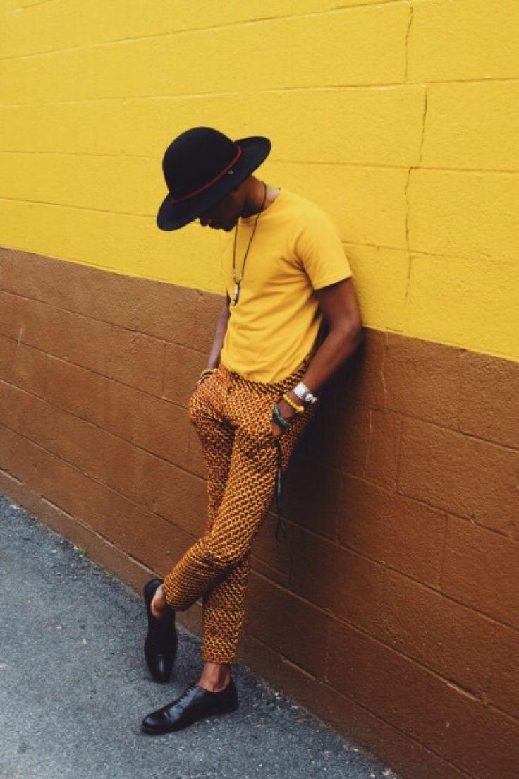 BLACK FASHION   Khalif Nelson, 19 Maryland.   Model...