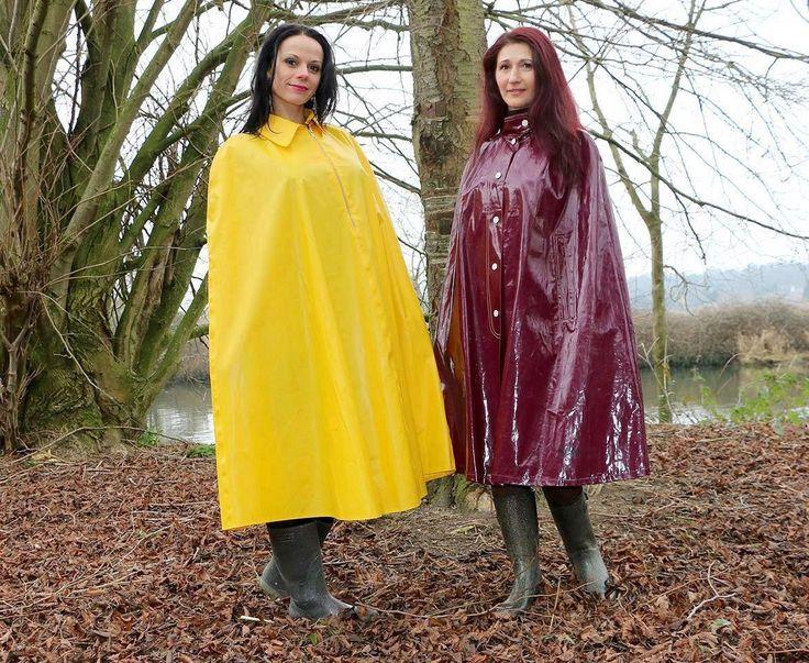 Vinyl Rain | Pvc raincoat, Rainwear girl, Rainwear fashion