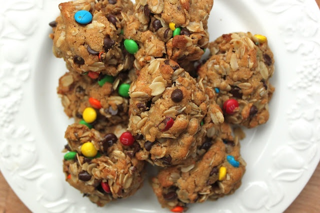 The Ultimate Monster Cookies {Gluten and Dairy Free Versions!}