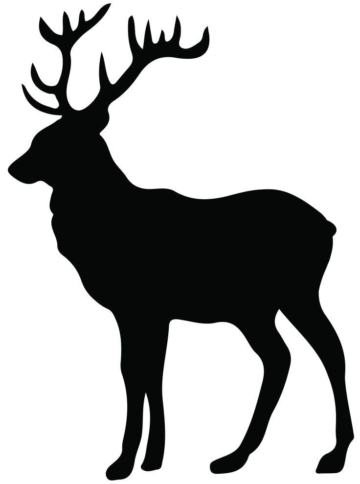 pin by ivy edwards on tattoo deer head silhouette elk