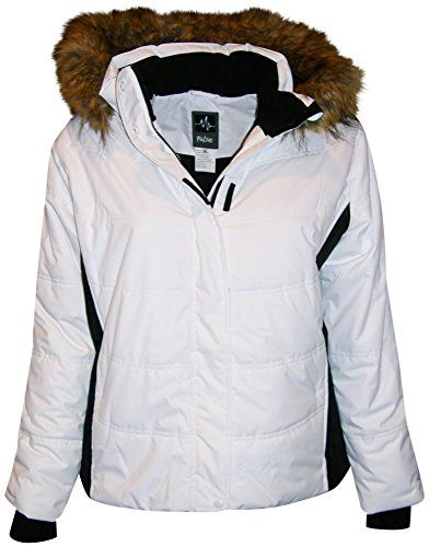 Pulse Women's Plus Extended Size Ski Coat Jacket Aspens Calling