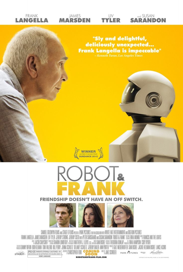 """""""Robot & Frank"""" - Aging jewel thief teaches his caretaker robot to rob banks - this might be one of the best one-line description for any 2012 film."""