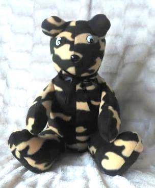 Camo Cuddle Bear