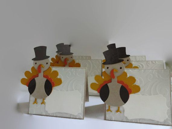 Thanksgiving PlaceCards 12 Thankgiving Name by lilaccottagecards
