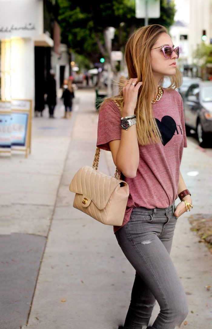 Los Angeles: day 4 | The Blonde Salad #Rodarte skirt #Chanel bag