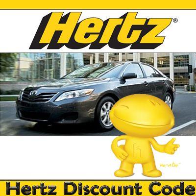 Hertz car rental coupons discounts