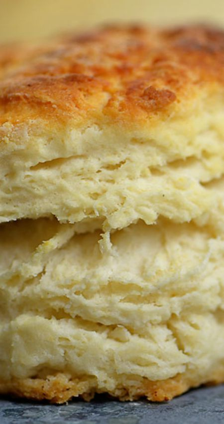 Three Ingredient Buttermilk Biscuit Recipe ~ Simple, with not too much room for error, so they turn out the same every time.