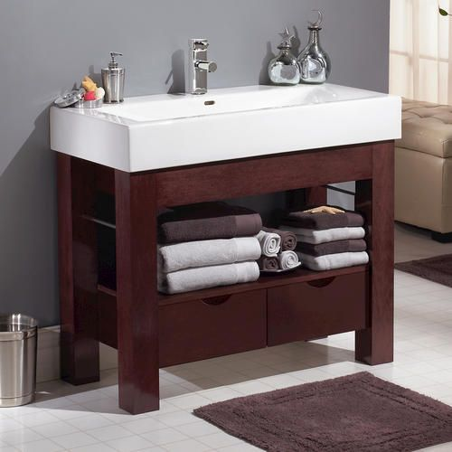 The Awesome Web Magick Woods Sonata Collection Vanity Base at Menards