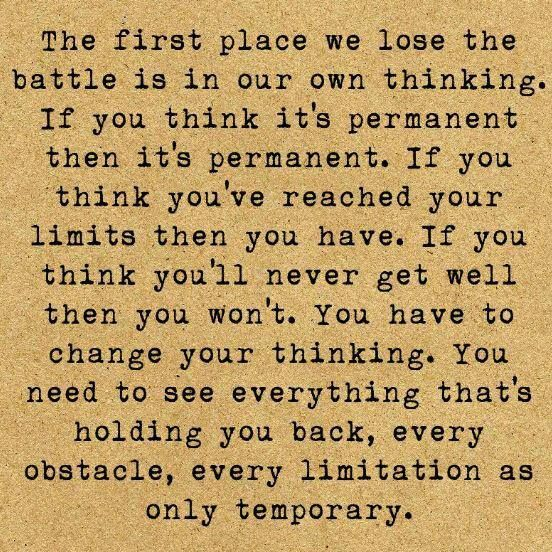 #Quote The first place...