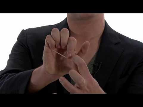 Goocheltruc met elastiekje (goochelen)- Leuke trucs deel 4 met Robin Matrix