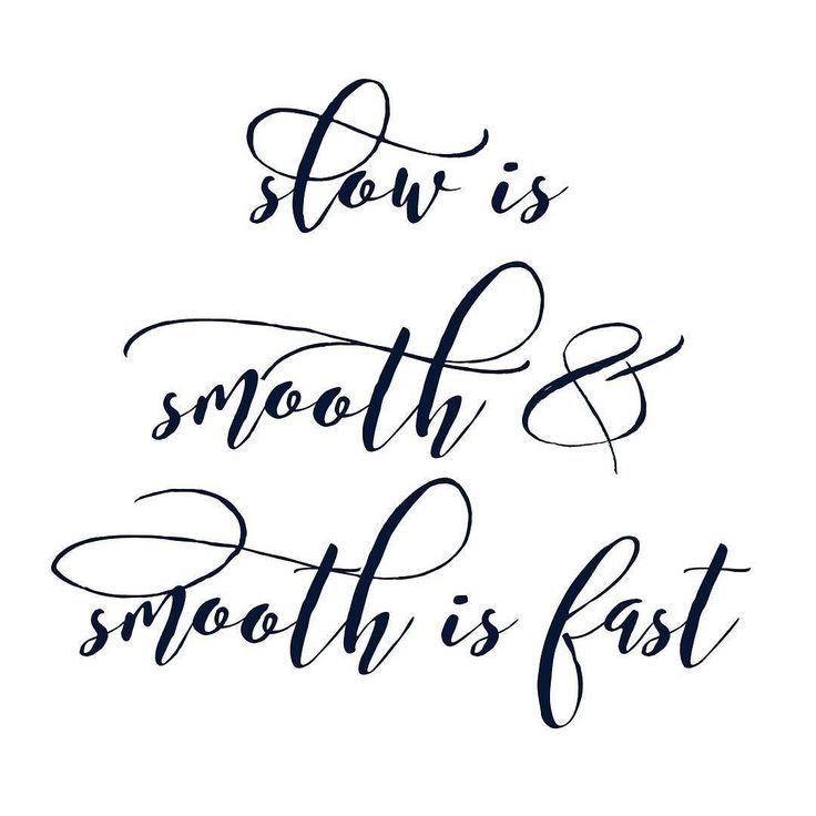 "When it comes to learning new motor skills and we want it in a hurry it's worth remembering that ""slow is smooth & smooth is fast""  #acceleratedlearning #acroyogadance #acroyoga"