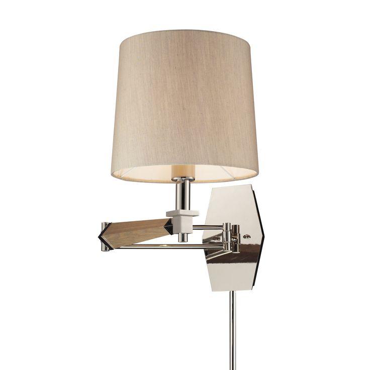 Jorgenson Swing Arm Wall Sconce by Elk Lighting | 31332/1