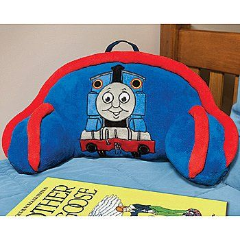 "Thomas the Tank Engine Pillow Bed Rest - with Handle for Toting 17"" x 14"" Thomas & Friends"
