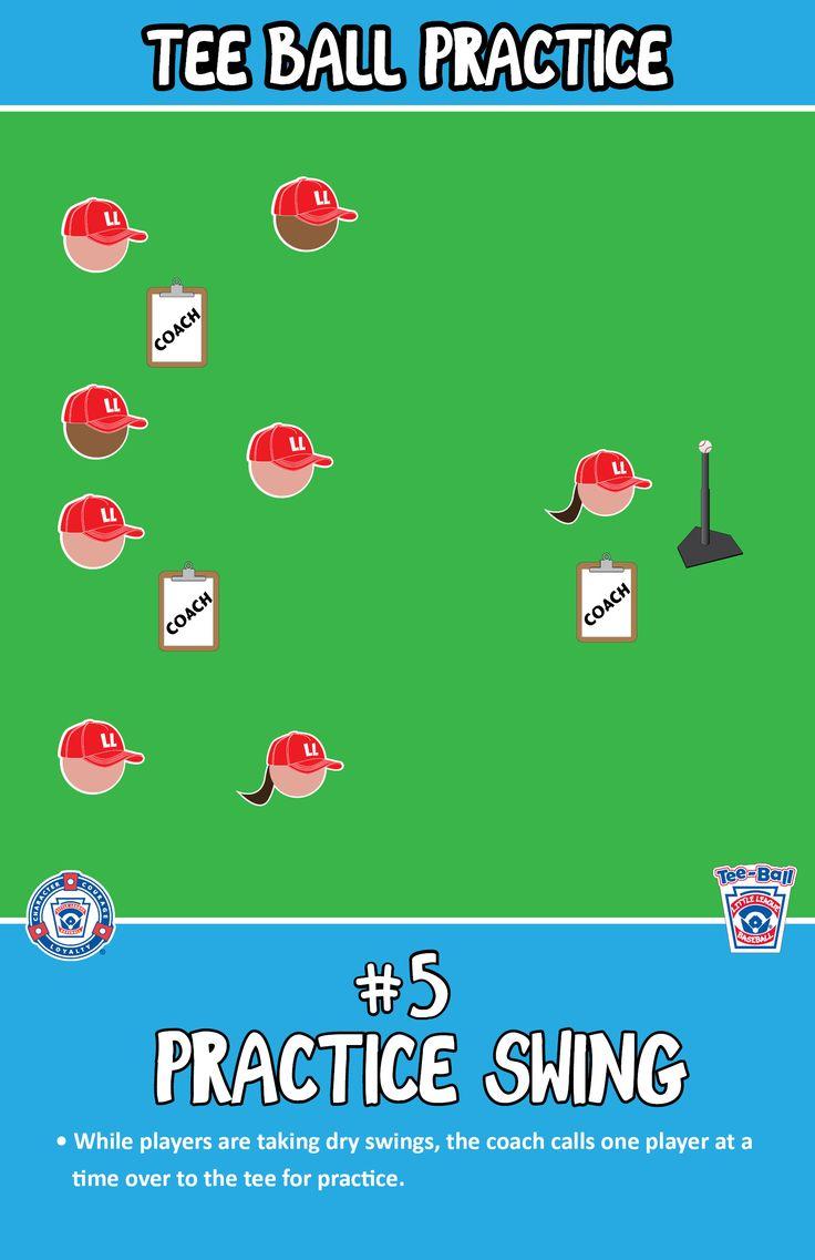 Practice Swing | T-Ball Practice |