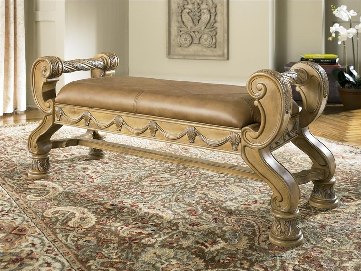 South Coast Bench By Ashley Millennium | Family Room Redesign | Pinterest |  Master Room And Bench