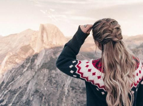 half updos Lazy Girl #hairstylesforlonghair - Hairstyles - #Hairstyles #Girl #hairstylesforlonghair