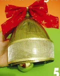 Saiba como reciclar garrafas pets fazendo lindos sininhos de Natal. Isso mesmo! Inove na sua decoraç
