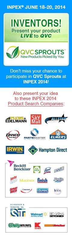 Present Your Product LIVE to @QVC at #INPEX2014 @Invention_Show! www.INPEX.com
