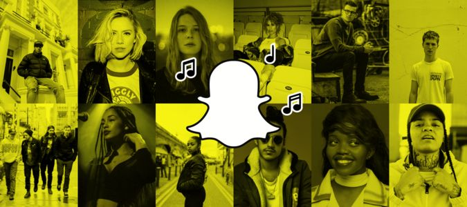 Check these 12 emerging musicians both their music and Snapchat acts.