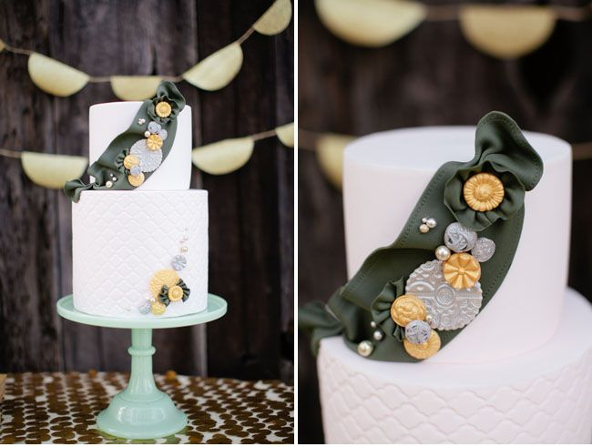girl scouts inspired cake!